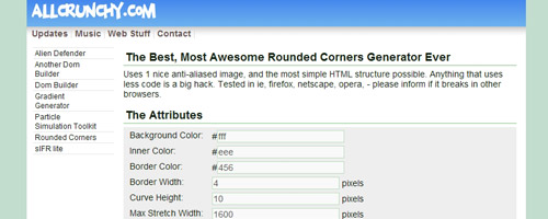 Sweet Rounded Corners